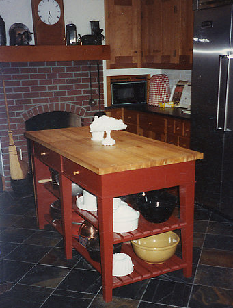 Awesome TABLES 01, Custom Built Kitchen Island